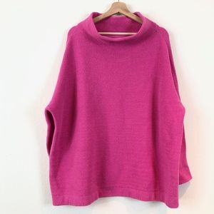 Free People Sweaters - Free People Ottoman Slouchy Tunic in Electric Pink